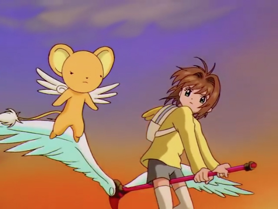 Cardcaptor Sakura Episode 45 Blooper