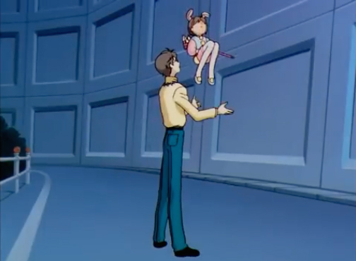 Cardcaptor Sakura Episode 6 Blooper