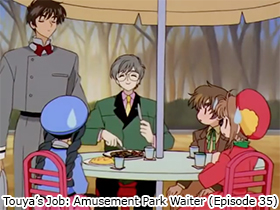 Touya's Job: Amusement Park Waiter (Episode 35)