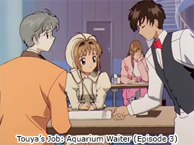 Touya's Job: Aquarium Waiter (Episode 3)