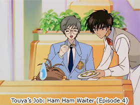 Touya's Job: Ham Ham Waiter (Episode 4)