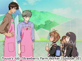 Touya's Job: Strawberry Farm Worker (Episode 38)