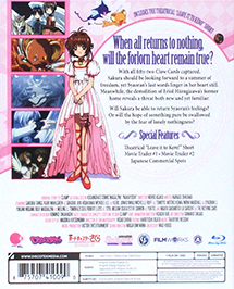 Cardcaptor Sakura The Sealed Card Collector's Edition Blu-ray